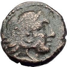 AMPHIPOLIS in Macedonia 147BC RARE R1 Ancient Greek Coin HERCULES & LION i64264