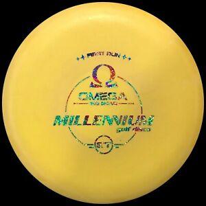 Millennium ET Omega Big Bead Disc Golf Putter 170g First Run