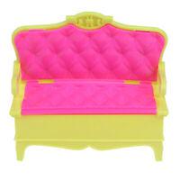 1/12 Dollhouse Miniature Furniture Sofa Chair Couple Sofa Accessor WG