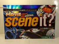 Mattel Scene It Movie 2nd Edition DVD Board Game 2007  gm978