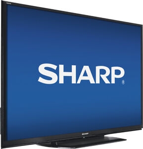 """Sharp LC-80LE650U AQUOS 80"""" Class LED 1080p Smart HDTV SELF PICK UP ONLY"""