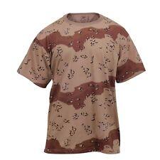 Desert Camo 6 Color T-shirt USMC Army Navy Gulf War Desert Storm Chocolate Chip