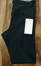 Women Athleta Capri Yoga Leggings Size L Large Black