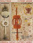 Home Decor  Nursery Patterns - Craft Book: 7430 Macrame Go Round