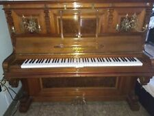 "Astonishing  Bluthner  55"" professional  upright  piano  & Steinway  bench"