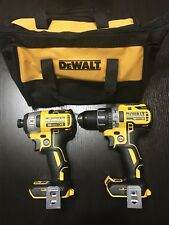 "New Dewalt 20v DCD791 1/2"" Drill Driver DCF887 1/4"" Impact Drill Tool Bag"