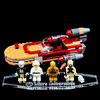 Acryl Display Stand Acrylglas Standfuss für LEGO 75173 Luke´s Landspeeder