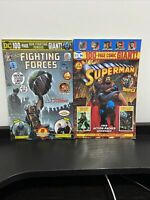 Walmart Comic DC 100 page giant Our Fighting Forces #1 & SUPERMAN GIANT #7