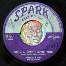 HEAR Robert Byrd 45 Bippin & Boppin/Strawberry SPARK 501 R&B rocker rockabilly