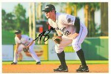 tony plagman Signed autographed 4x6 photo Tigers Minor League