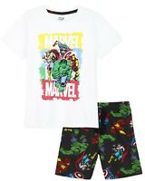 Avengers Boys Pyjamas with Iron Man Captain America Hulk Thor PJs for Teens