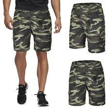 Bermuda Uomo Cotone Pantaloncino Corto Casual Cargo Tasconi Shorts Militare