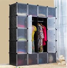 24 paires d'enclenchement cube de rangement étagère à chaussures support organisateur holder - 12 boîtes