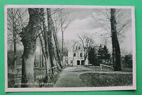 Sachsen AK Schkeuditz 1910-25 Bürgergarten Gebäude Hausansicht Gasthaus?  S10