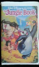 """The Jungle Book"" VHS 1991 Walt Disney's Black Diamond Classic Clamshell Case"