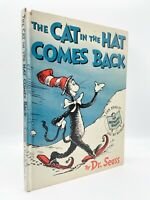 The Cat in the Hat Comes Back – FIRST EDITION – 1st Printing – Dr. SEUSS 1958