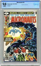 Micronauts #8 CBCS 9.8 1979