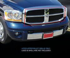 06 07 08 Dodge Ram Sport Black Billet Grille Upper Grill Insert 4 Pcs Fedar