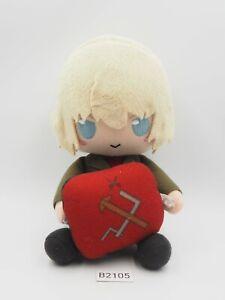 Girls und Panzer B2105 Darjeeling Curtain Damashii Plush Toy Doll Japan