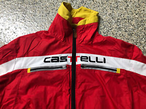 Castelli Roso Corsa Gore WindStopper Cycling Jacket Large