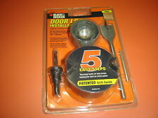 Black & Decker Wood Door Lock Installation Kit 79-353 NIB