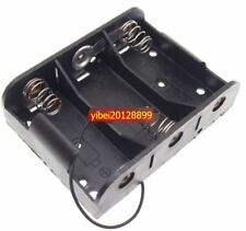 1pc x Hold 3 C Size Cell Battery Holder Box 4.5V DC Case With Cable Line