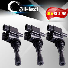 Pack of 3 Ignition Coils for 2002-2005 Kia Sedona V6 3.5L UF-432 2730039050