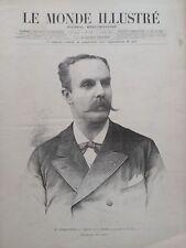 LE MONDE ILLUSTRE 1894 N 1945  M.CASIMIR PERIER, ELU PRESIDENT DE LA REPUBLIQUE