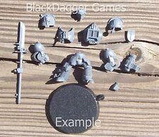 40K Grey Knights  Terminator w/ Halberd Single Figure