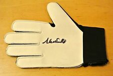 S Surname Initial Signed Football Gloves
