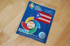 2013 World Baseball Classic Puerto Rico Flag Patch Yadier