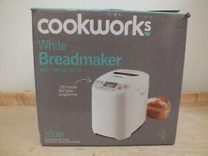 Cookworks Breadmaker Model EHS20AP-P - Boxed (Haw)