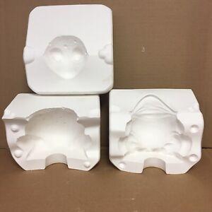 """Vintage Scioto 6"""" Medium Frog Toad S-3258 Ceramic Mold"""