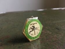More details for authentic nz (licensed thoroughbred trainers) enamel badge no. 549