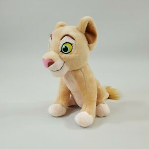 Disney The Lion King Nala Mini Bean Bag Bottom Plush Soft Stuffed Toy 17cm tall