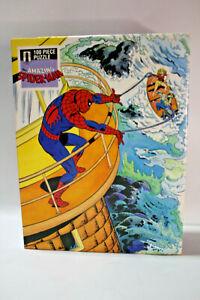 1983 Vintage Whitman 'The Amazing Spider-Man'100 Piece Jigsaw Puzzle