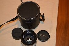 Nikon Nikkor-SC  50mm f1.4 Manual Lens with the Case. Japan made. Very Clean!!!