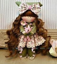 Rag doll handmade in the UK Tilda doll Ooak doll Cloth doll ELENA 6 inch tall