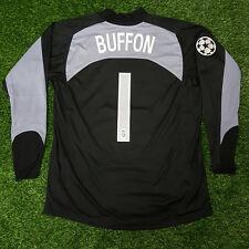 MAGLIA JUVENTUS GOALKEEPER GK BLACK 2004-05 TAMOIL BUFFON 1 TOPPA UEFA TG XL