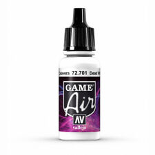 Vallejo Game Air Dead White 17ml Bottle VAL72701