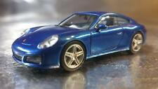 * Herpa 038522  Porsche 911 Carrera 2 Coupé, Saphier Blue Metallic 1:87 Scale HO