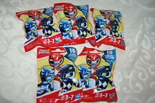 Lot of 5 Brand New Playskool Heroes Power Rangers Blind Bags Series 1