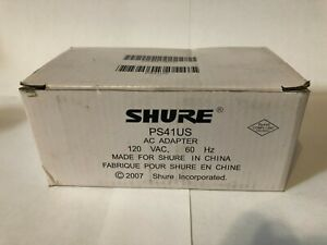 Shure PS41US AC Adapter Power Supply New in box
