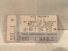 Rush Concert Ticket Stub 5-7-1994 Toronto ON