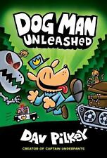 DOG MAN UNLEASHED Dogman series 2 NEW book Dav Pilkey (2016) captain underpants