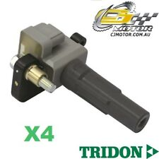 TRIDON IGNITION COIL x4 FOR Subaru Forester XT 03/08-06/10, 4, 2.5L EJ25DET