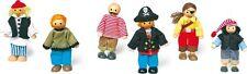 Biegepüppchen Piraten Puppenhaus Puppen - L1955