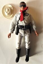 THE LONE RANGER 1973  GABRIEL vintage action figure doll +holster and pistols