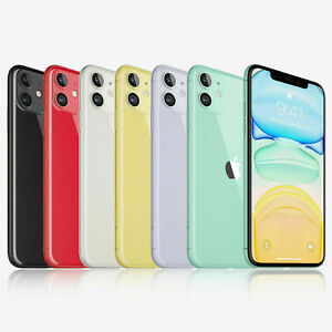 Apple iPhone 11 GSM Factory Unlocked 64GB Smartphone SR