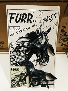Toy Soldiers Of Furr The Horse Of West Fury Made IN Italy L@@K Nr3